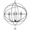 This item: Solaris English Bronze Six-Light Chandelier