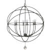 This item: Solaris English Bronze Six-Light Pendant
