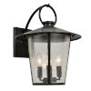 This item: Andover Matte Black Four-Light Outdoor Wall Mount