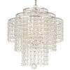 This item: Arielle Silver Three-Light Chandeliers