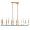 This item: Bailey Aged Brass 42-Inch 12-Light Chandelier