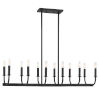 This item: Bailey Matte Black 42-Inch 12-Light Chandelier