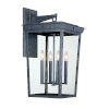 This item: Belmont Graphite 14-Inch Four-Light Outdoor Wall Mount
