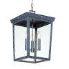 This item: Belmont Graphite 19-Inch Three-Light Outdoor Pendant