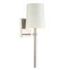 This item: Bromley Polished Nickel One-Light Wall Sconce