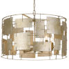 This item: Bronson Six-Light Oxidized Silver Chandelier
