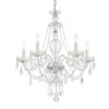This item: Candace Polished Chrome  25-Inch Five-Light Hand Cut Crystal Chandelier