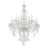 This item: Candace Polished Chrome 28-Inch 12-Light Swarovski Spectra Crystal Chandelier