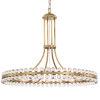 This item: Clover Twelve-Light Aged Brass Chandelier