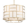 This item: Danielson Vibrant Gold Six-Inch Chandelier