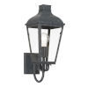 This item: Dumont Graphite One-Light Outdoor Wall Mount