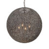 This item: Jasmine Forged Bronze 20-Inch Four-Light Chandelier