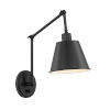 This item: Mitchell Matte Black 31-Inch One-Light Wall Sconce