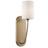 This item: Preston Aged Brass One-Light Wall Sconce
