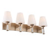 This item: Ramsey Vibrant Gold 32-Inch Four-Light Wall Sconce