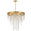 This item: Windham Antique Gold Five-Light Chandelier