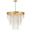 This item: Windham Antique Gold Six-Light Chandelier