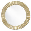 This item: Carla Shiny Gold Large Mirror
