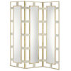 This item: Camille Cream and Brushed Brass Screen