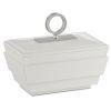 This item: Brash White and Nickel Small Box