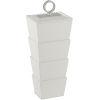 This item: Brash White and Nickel Large Box