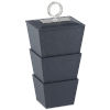 This item: Brash Navy and Nickel Medium Box