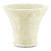 This item: Mughal Natural and White Vase