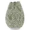 This item: Milione White and Green Large Vase