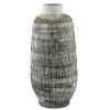 This item: Cape Town Textured Black and White Urn