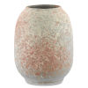 This item: Sunset Gray and Coral Small Vase