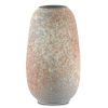This item: Sunset Gray and Coral Medium Vase