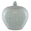 This item: Maiping Celadon Crackle Ginger Jar