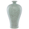 This item: Maiping Celadon Crackle Olpe Vase