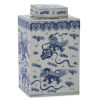 This item: Ming Blue and White Small Lidded Jar