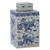 This item: Ming Blue and White Large Lidded Jar