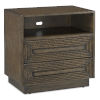 This item: Morombe Distressed Cocoa Nightstand