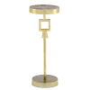 This item: Willim Shiny Gold Drinks Table