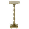 This item: Pilare Shiny Gold Drinks Table