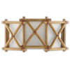 This item: Kingali Natural One-Light Wall Sconce