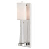 This item: Junia Polished Nickel One-Light Wall Sconce