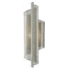 This item: Penfold Contemporary Silver One-Light Right Wall Sconce
