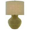 This item: Hensen Natural and Silver Leaf One-Light Table Lamp
