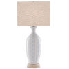 This item: Saraband Sky Blue and Cream One-Light Table Lamp