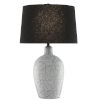 This item: Pippa Cloud and Black One-Light Table Lamp