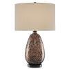 This item: Tullia Copper Metallic and Black One-Light Table Lamp
