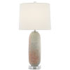 This item: Sunset Gray and Coral One-Light Table Lamp