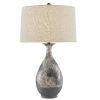 This item: Frangipani Cream Blue Brown One-Light Table Lamp