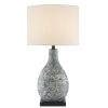 This item: Ostracon Vintage Blue One-Light Table Lamp