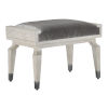 This item: Serena Fossil and Gray Salt Ottoman