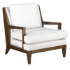 This item: Andaz Muslin and Dark Walnut Chair